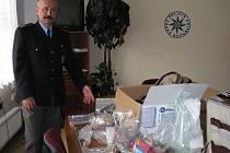 Policií zabavené suroviny, ze kterých se v šumperské varně vyráběl pervitin
