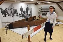 Výstava o zimní údržbě v Muzeu silnic ve Vikýřovicích
