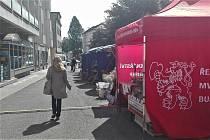 Farmářské trhy v Zábřehu ve čtvrtek 19. září.