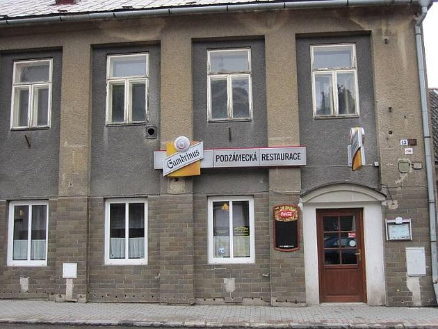 Podzámecká restaurace, Zábřeh