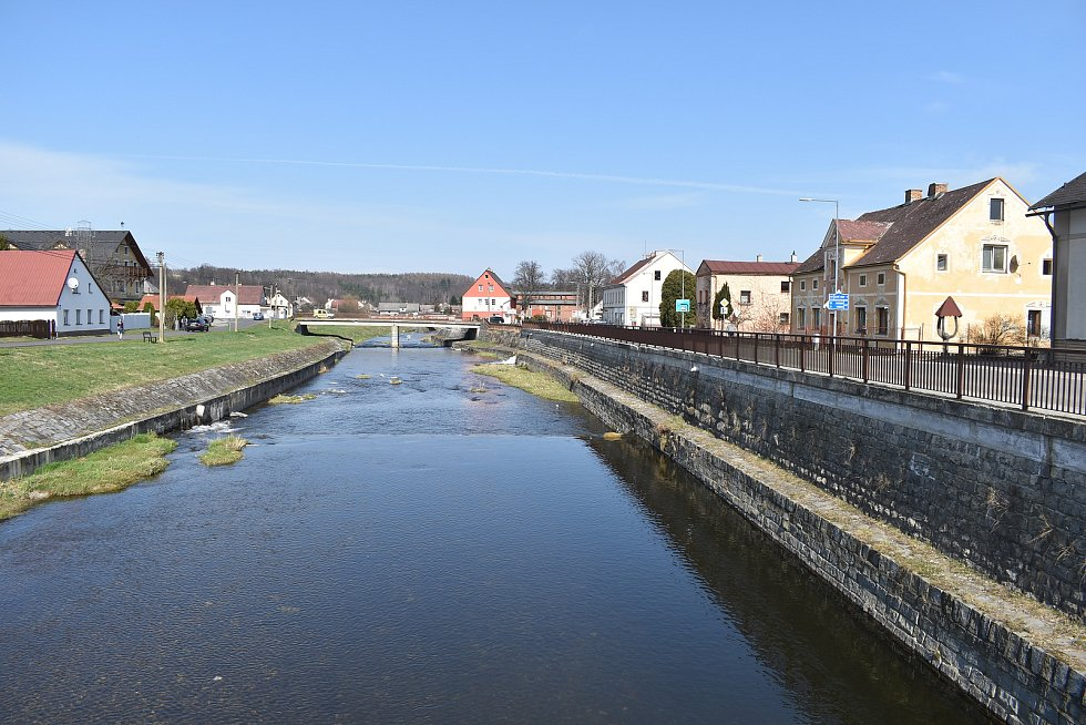 Mikulovice - řeka Bělá