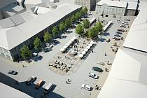 Studie revitalizace náměstí Svobody v Mohelnici. Akce za 45 milionů korun je naplánována na rok 2012