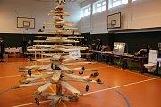 Soutěž budoucích kadeřníků Color cup a den otevřených dveří Střední školy železniční, technické a služeb v Šumperku.