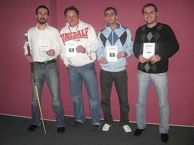 Tomáš Gronych, Josef Komenda, Petr Urban, Jaromír Urban.