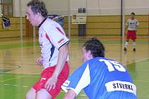Richard Sokol (vlevo) v dresu futsalové Delty Real.