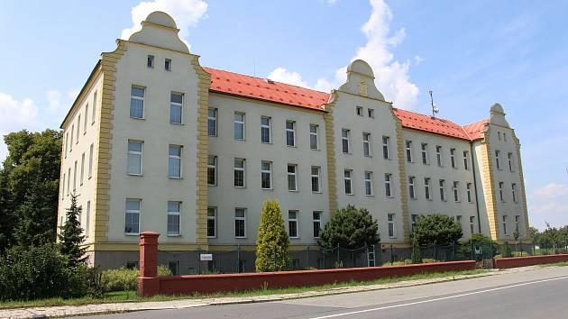 Budova obchodní akademie v Mohelnici
