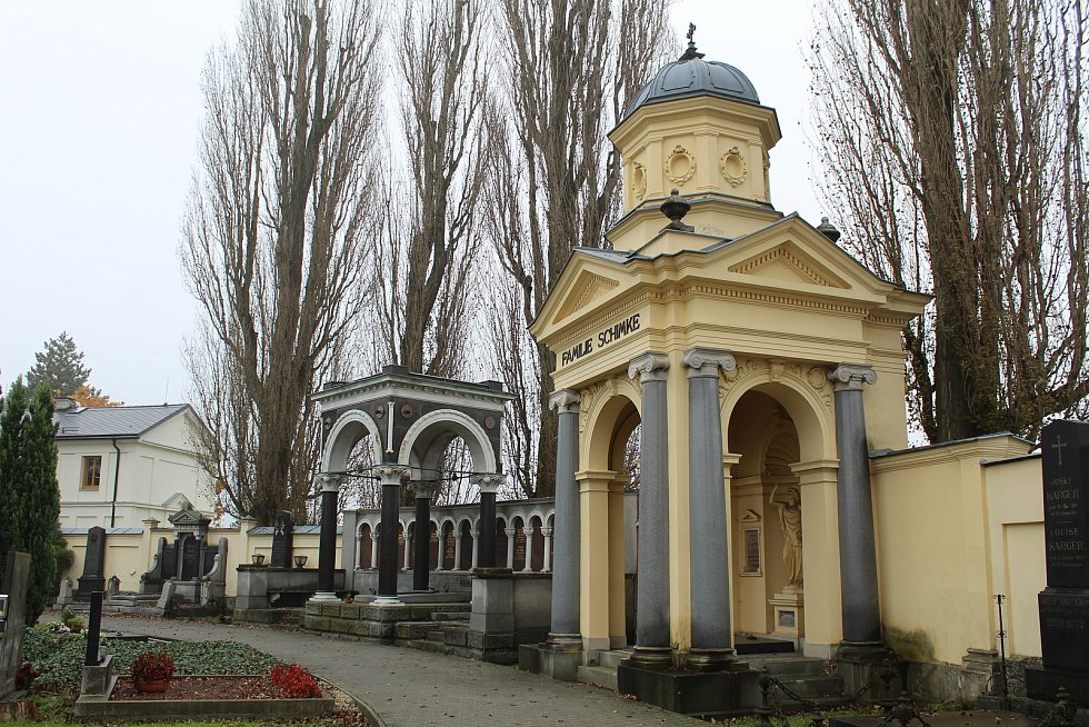Hrobka rodiny Schimke.