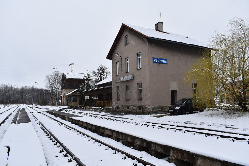 Vápenná - nádraží