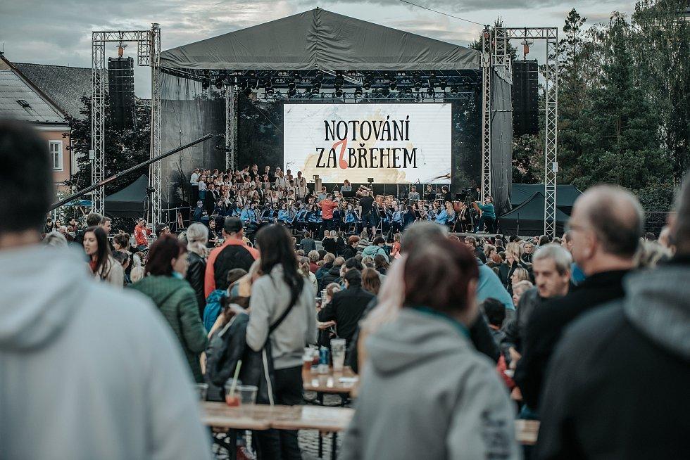 Notování Zábřehem 2021.