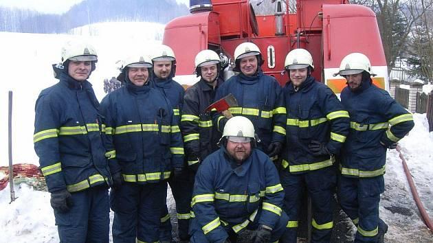Jednotka losinských hasičů