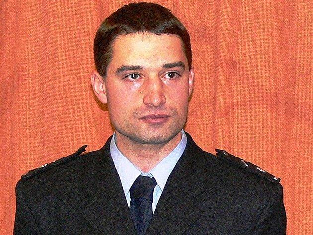 Propuštěný policista Jakub Kunčar