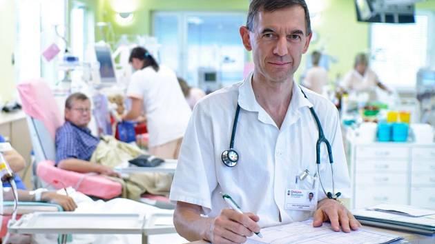 Petr Schlemmer, primář šumperské dialýzy