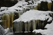 Vodopády na Stříbrném potoce zvané také Nýznerovské.