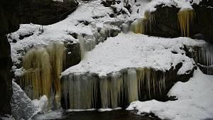 Nýznerovské ledopády - 16. února 2021