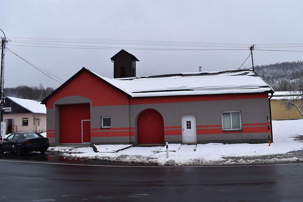 Vápenná - hasičská zbrojnice