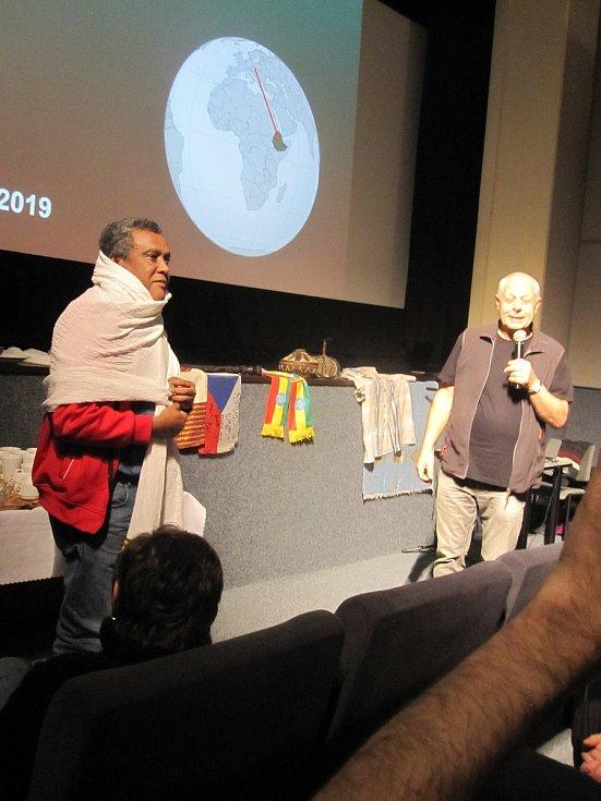 Přednáškou a výstavou o Etiopii byl v úterý 14. ledna zahájen jedinečný zábřežský festival Welzlování.