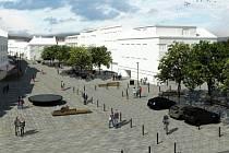 Takto vypadá budoucí podoba náměstí Osvobození podle představ architektů, kteří zvítězili v odborné soutěži vypsané městem