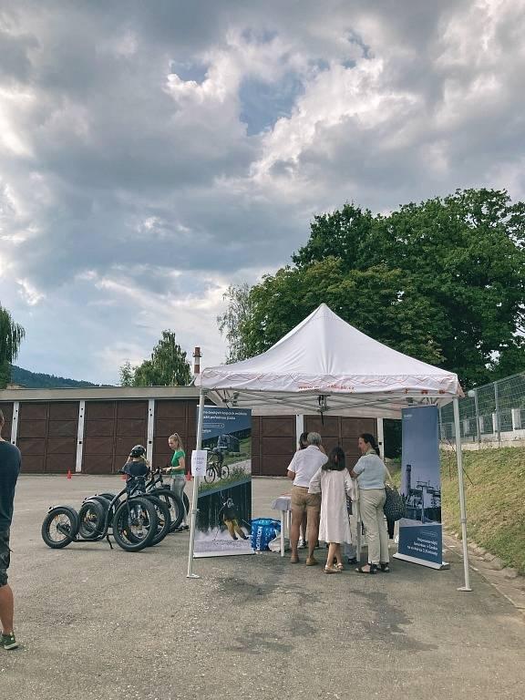 První narozeninová oslava rybníku v údolí Štepánovského potoka a Festival medu v Šumperku 2021.