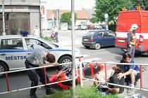 Motorkáři jen málokdy vyváznou s lehkým zraněním.