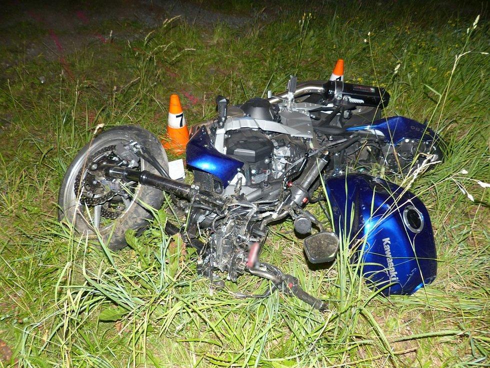 Dopravní nehoda poslední červencový pátek ve Filipovicích.