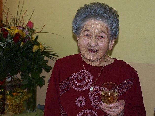 Filomena Krobotová oslavila sto let