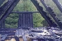 Rodinný dům v Kopřivné hořel  po šesté hodině ranní v sobotu 24. března časně ráno. Střecha domu lehla popelem.