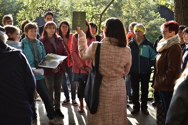Sara Al-Wahaishi, městská architektka Jeseníku, při Dni architektury