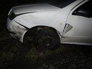 Nehoda mezi Bludovem a Bohutínem.