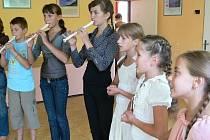 Ukrajinské děti se rekreují v Bludově