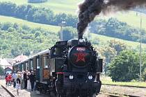 V čele zvláštního parního vlaku pojede historická lokomotiva řady 433.002 přezdívaná Matěj