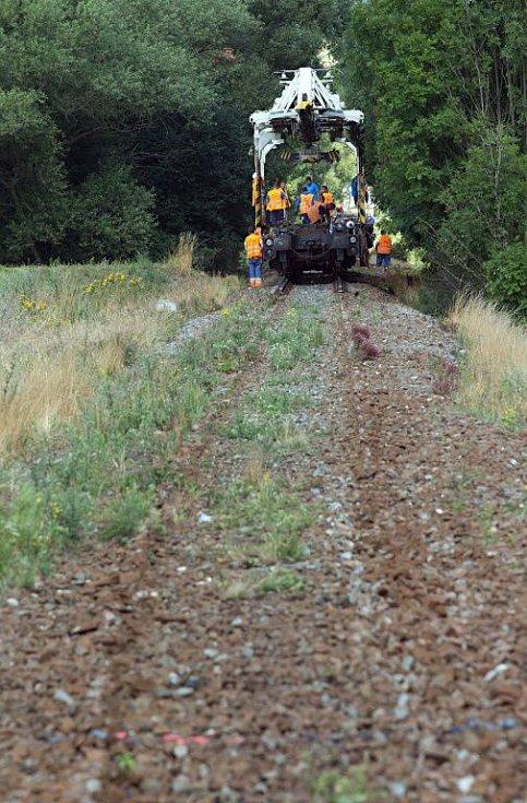 U Bohutína. Rekonstrukce železniční trati 292 Šumperk - Hanušovice - Jeseník