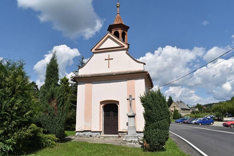 Obec Kamenná - kaple.