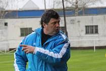 Trenér Mohelnice Roman Sedláček