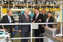 Mohelnický závod koncernu Siemens, který je největším výrobcem elektromotorů v Evropě, navštívil vůbec poprvé v historii německý velvyslanec.