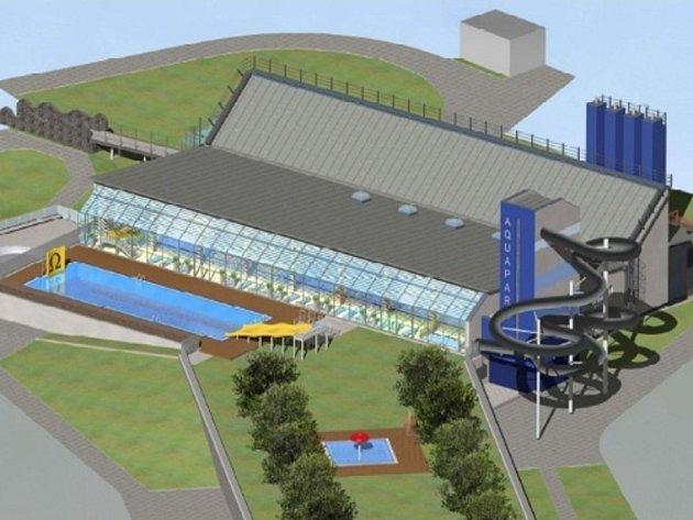 Vizualizace modernizace Aquacentra v Šumperku
