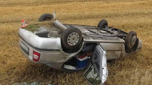 Nehoda u Libivé u Mohelnice