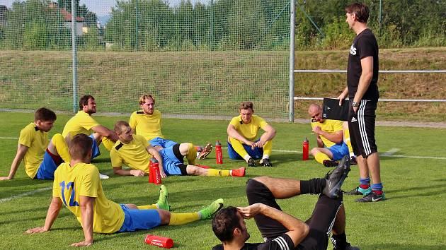 Fotbalisté Šumperka. Ilustrační foto