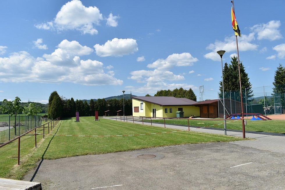 Dolní Studénky - obecní areál.