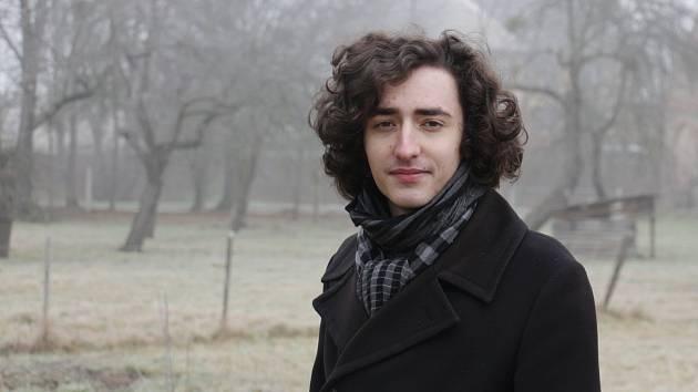 Tomáš Adamec, aktivní mladý muž z Moravičan.