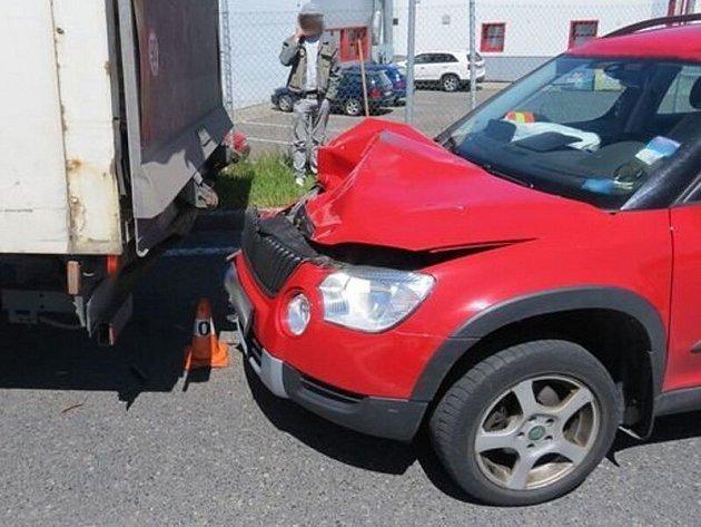 Nehoda vJeseníku