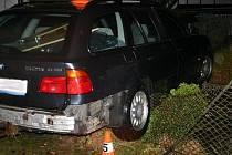 Takhle dopadlo BMW v Žulové