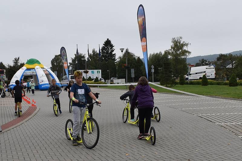 Slavnostní otevření sítě Yes Cyklo na Šumpersku 29. září v Rapotíně.