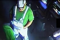 Snímek z bezpečnostní kamery.