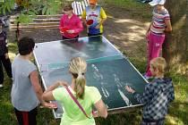 V osadě Krásné na Šumpersku je rybářský tábor, který organizuje šumperský Dům dětí a mládeže U Radnice