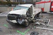 Nehoda v Loučné nad Desnou