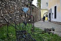 Šumperské hradby v ulici Na Hradbách