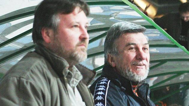 Svatopluk Číhal (vpravo)