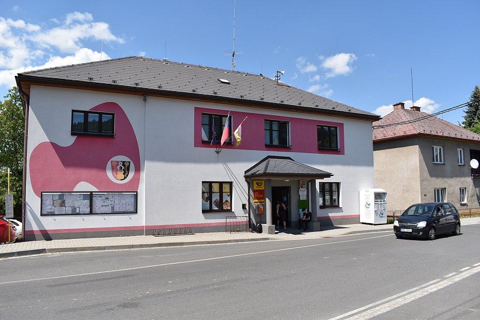 Dolní Studénky - obecní úřad.