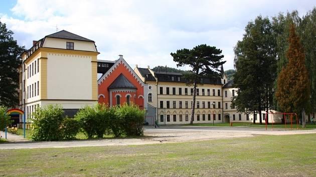 Základní škola v Jeseníku.