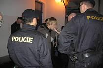 Policie kontrolovala mladistvé.